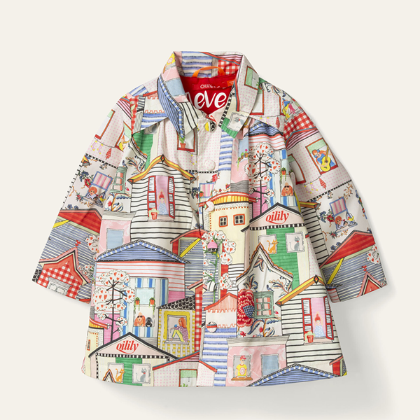 Picture of Oilily Girls 'City' Printed Jacket