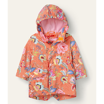 Picture of Oilily Girls 'Country' Orange Print Coat