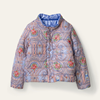 Picture of Oilily 'Centre' Blue Print Reversible Jacket
