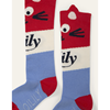 Picture of Oilily Girls 'Miauw' Red Print Knee Socks