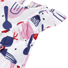 Picture of Catimini Baby Girl Printed Top With Red Shorts Set