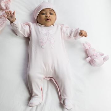Picture of Emile Et Rose 'Susan' Pale Pink Romper