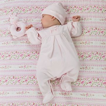 Picture of Emile Et Rose 'Shantel' Pale Pink Romper With Hat