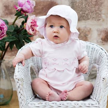 Picture of Emile Et Rose 'Stella' Pale Pink Romper with Hairband