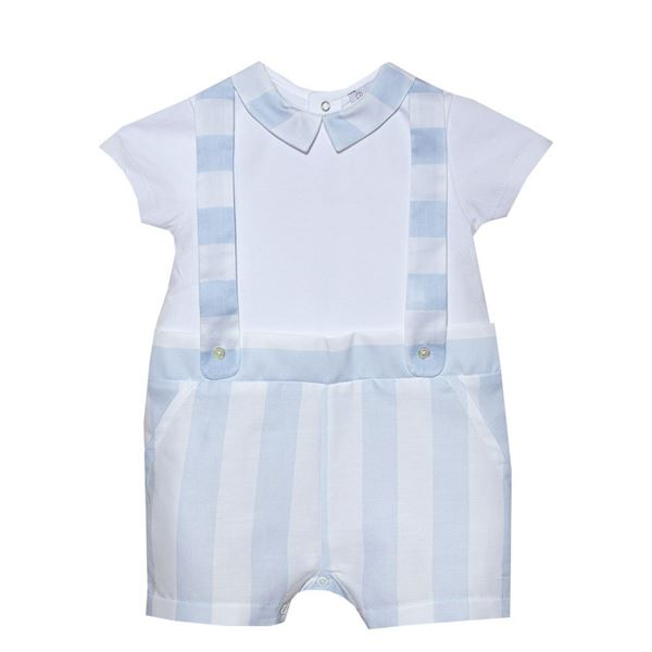 Picture of Patachou Baby Boys Blue Romper