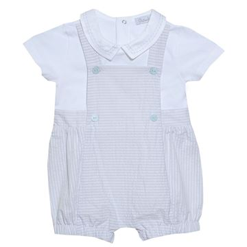 Picture of Patachou Baby Boys Grey Romper