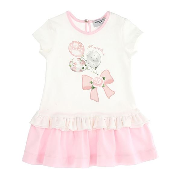 Picture of Monnalisa Baby Girl Pink Dress