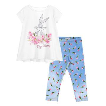 Picture of Monnalisa Girls Bugs Bunny Leggings Set