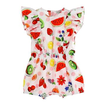 Picture of Monnalisa Baby Fruit Romper