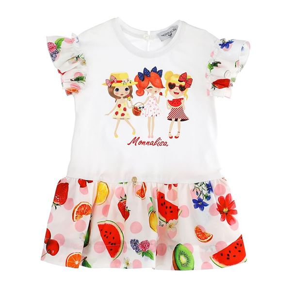 Picture of Monnalisa Baby Fruit Dress