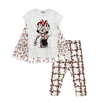 Picture of Monnalisa Girls Minnie Mouse Leggings Set
