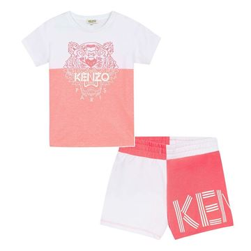Picture of Kenzo Girls Tiger Short Set