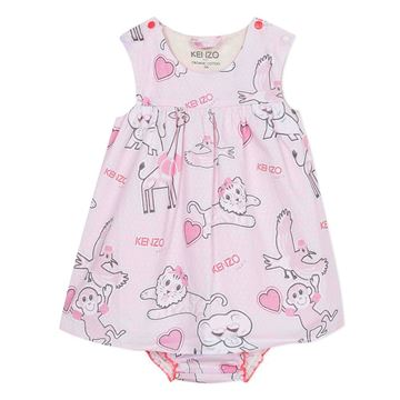 Picture of Kenzo Baby Girls Printed Dress