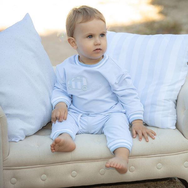 Picture of Patachou Baby Boys Blue Tracksuit