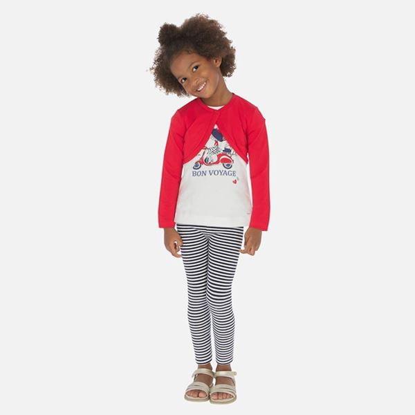 Picture of Mayoral Girls 3 Piece Leggings Set