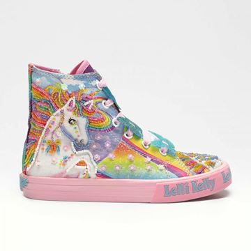 Picture of Lelli Kelly Unicorn Hightops