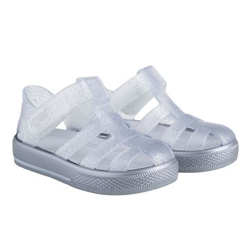 Picture of Igor Star Silver Glitter Velcro Jellies