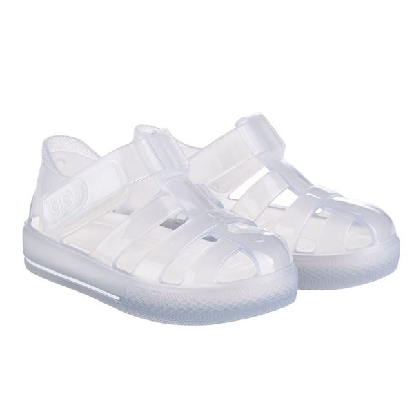 Picture of Igor Star Cristal Clear Velcro Jellies