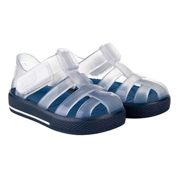 Picture of Igor Star Brillo Navy Velcro Jellies