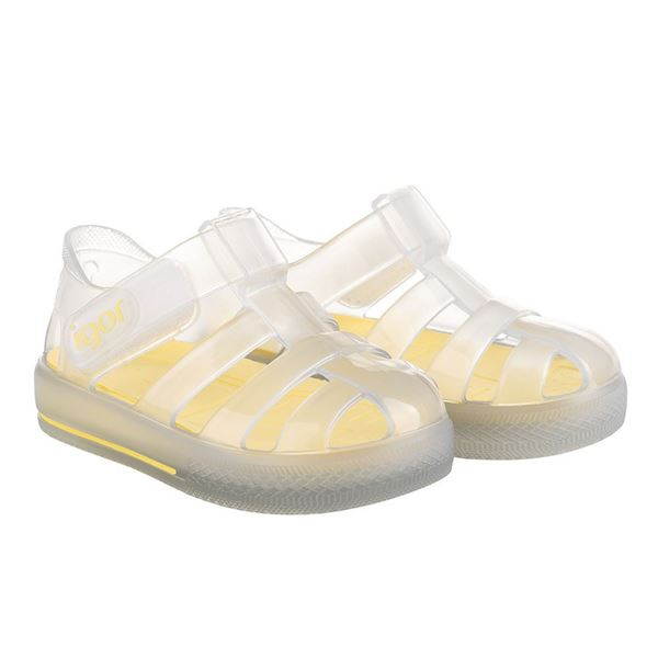 Picture of Igor Star Cristal Yellow Velcro Jellies