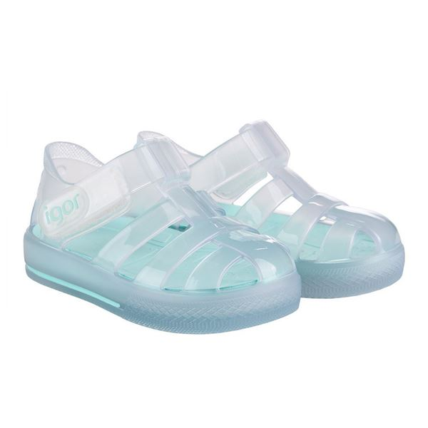 Picture of Igor Star Cristal Mint Velcro Jellies
