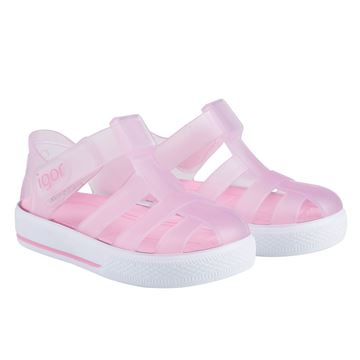 Picture of Igor Star Pink Velcro Jellies