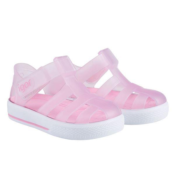 Picture of Igor Star Pink Velcro Jellies