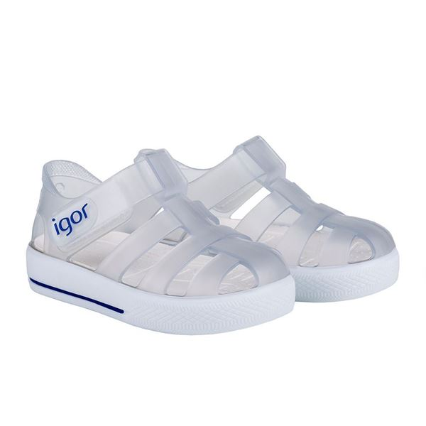 Picture of Igor Star Frosted Clear Velcro Jellies
