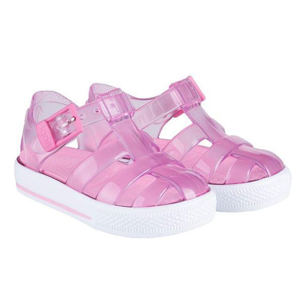 Picture of Igor Tennis Pink Buckle Jellies