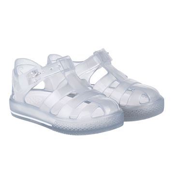 Picture of Igor Tennis Clear Buckle Jellies