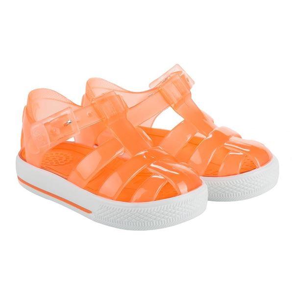 Picture of Igor Tennis Orange Buckle Jellies