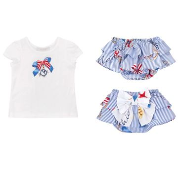 Picture of Balloon Chic Baby Sailor Short Set