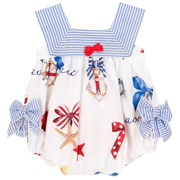 Picture of Balloon Chic Baby Sailor Romper
