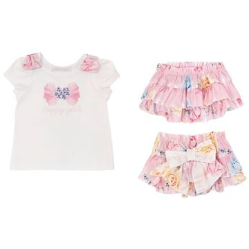 Picture of Balloon Chic Baby Pink Knickers Set