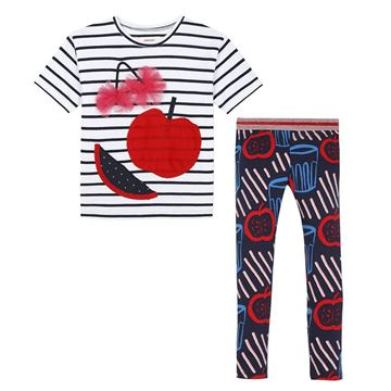 Picture of Catimini Girls T-Shirt & Printed Leggings