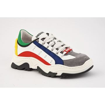 Picture of D Squared Boys Multi Coloured Chunky Trainers