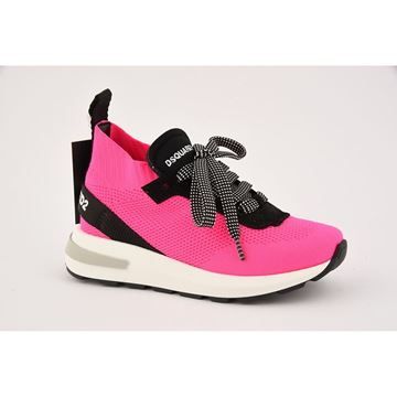Picture of D Squared Girls Pink Trainers