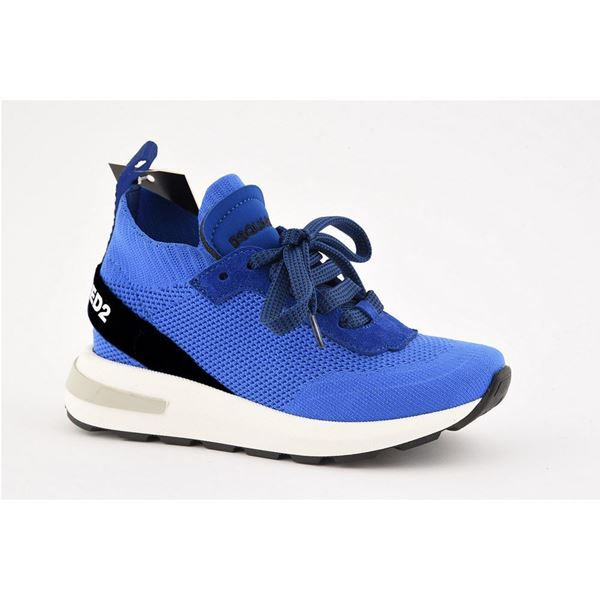Picture of D Squared Boys Blue Trainers
