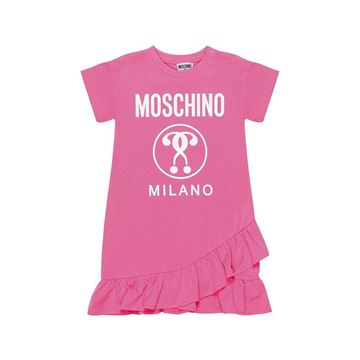 Picture of Moschino Girls Pink Dress