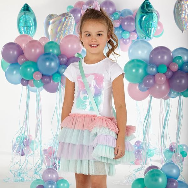 Picture of Ariana Dee Girls Mermaid Tulle Dress