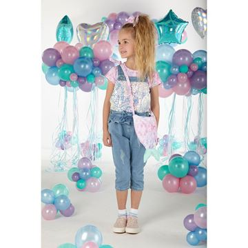 Picture of Ariana Dee Girls Mermaid Dungaree Set
