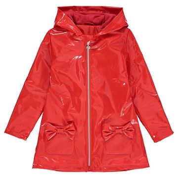Picture of Ariana Dee Girls 'Emily' Red Raincoat