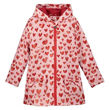 Picture of Ariana Dee Girls 'Erole' Heart Print Raincoat