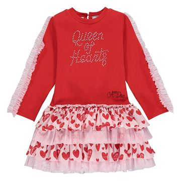 Picture of Ariana Dee Girls 'Elanna' Red Dress