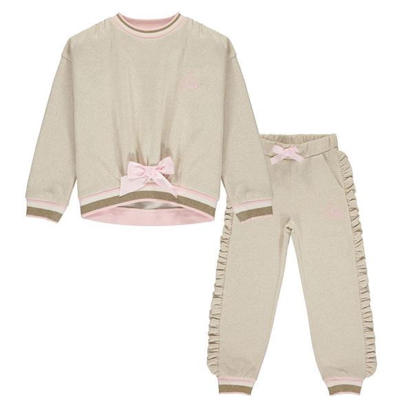 Picture of Ariana Dee Girls 'Fern' Champagne Tracksuit