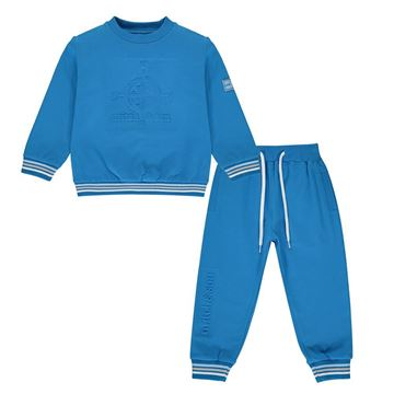 Picture of Mitch & Son Boys 'Max' Blue Tracksuit