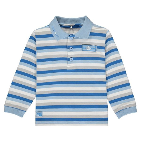Picture of Mitch & Son Boys 'Rowan' Striped Polo Top