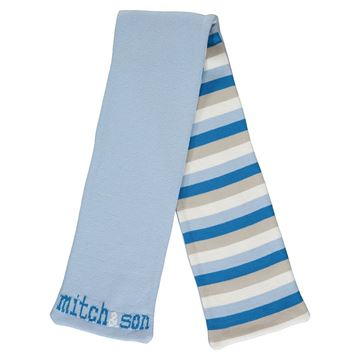 Picture of Mitch & Son Boys 'Tyler' Blue Scarf