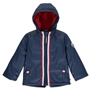 Picture of Mitch & Son Boys 'Justin' Navy Raincoat