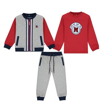 Picture of Mitch & Son Boys 3 Piece Grey Tracksuit